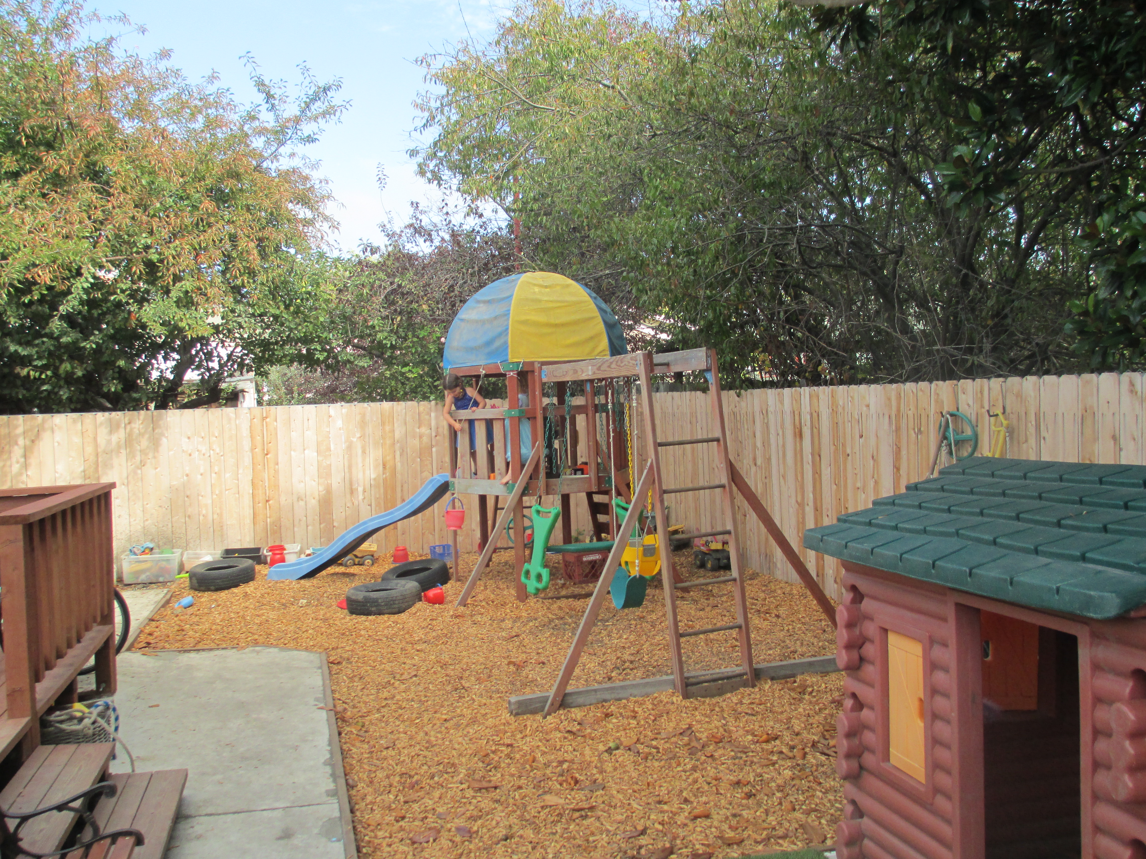 Play Structures In Backyard
